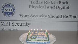 Happy Birthday - MEI Security!